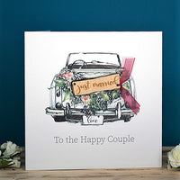 Just Married To The Happy Couple