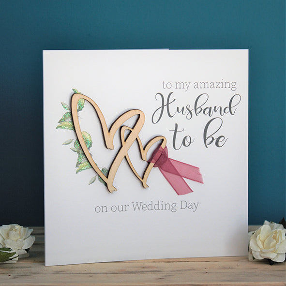 To My Amazing Husband To Be On Our Wedding Day
