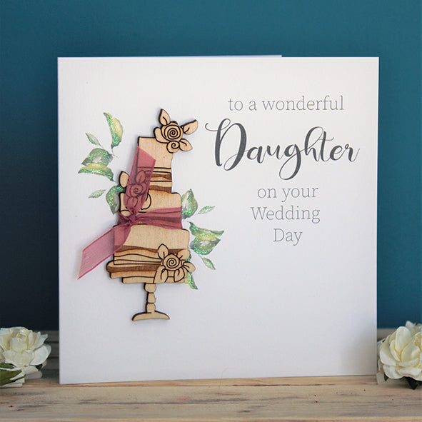 To A Wonderful Daughter On Your Wedding Day