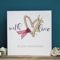 With Love On Your Anniversary