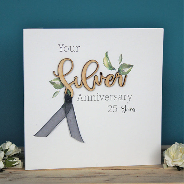 Your Silver Anniversary 25 years