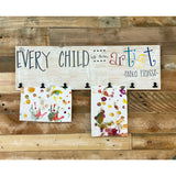Every Child is an Artist Clip Board