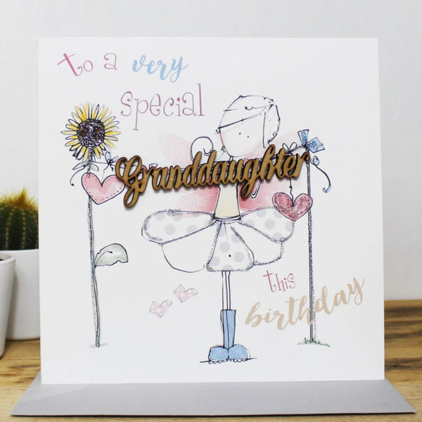 to a very special Granddaughter this birthday