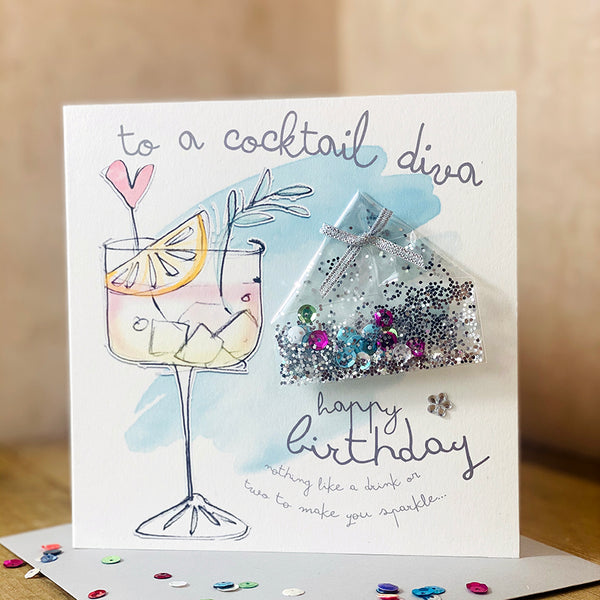 To a cocktail diva happy birthday