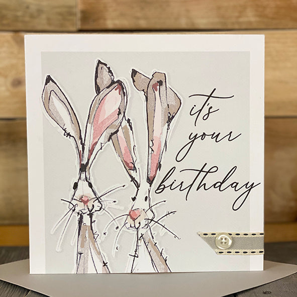 It's Your Birthday...Hare Design