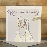 Happy Anniversary...2 Geese