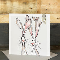 Blank Hare Card - You Choose The Occasion!