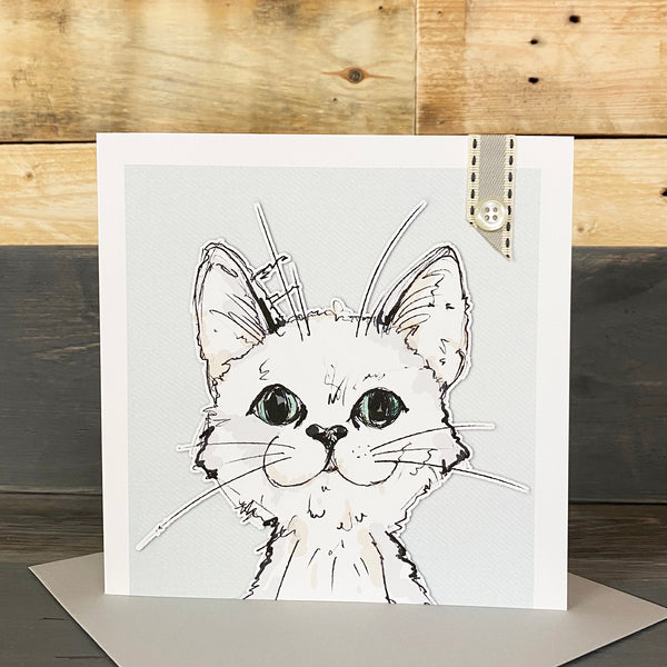 Blank Cat Card - You Choose The Occasion!