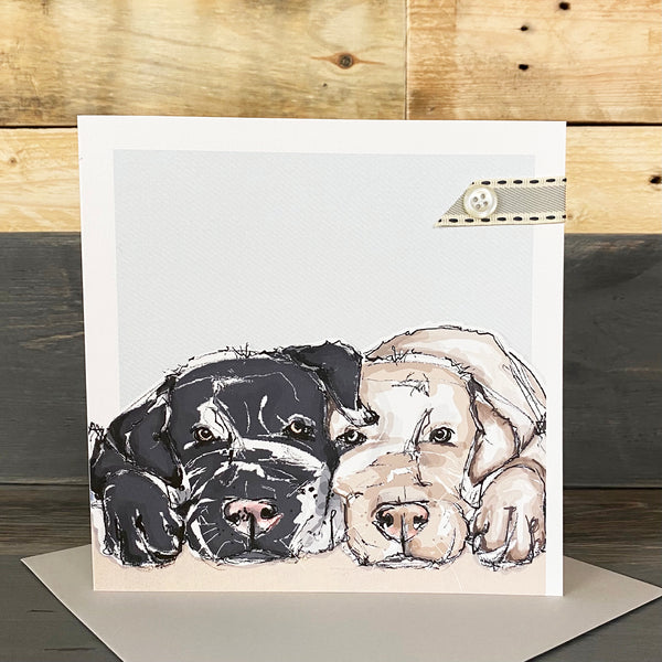 Blank Dog Card - You Choose The Occasion!