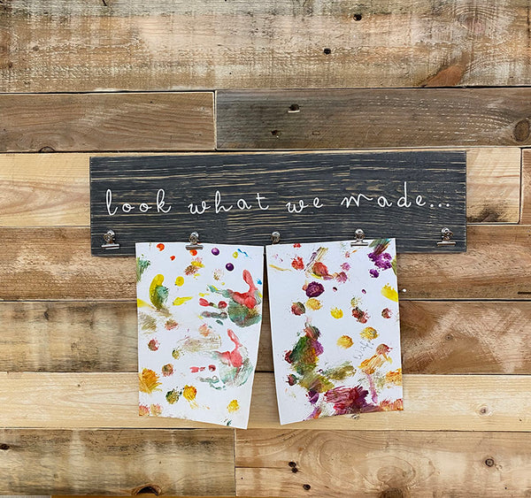 'Look' Children's Art Clip Board