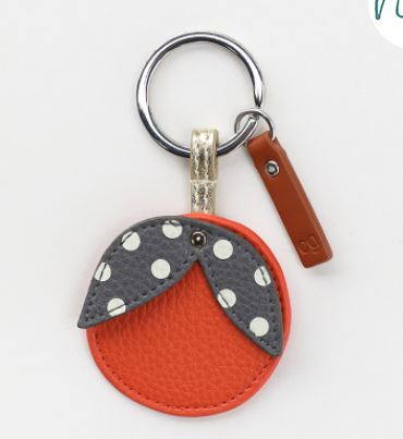 Novelty Orange Keyring
