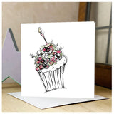 Personalised Cupcake Card