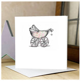 Personalised Pram Card