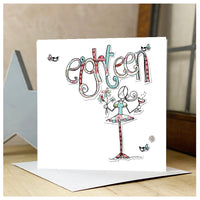 18th Personalised Birthday Card