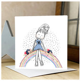 Personalised Rainbow Card