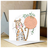 Personalised Tiger Card