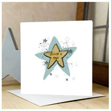 Personalised Wooden You're a Star Card