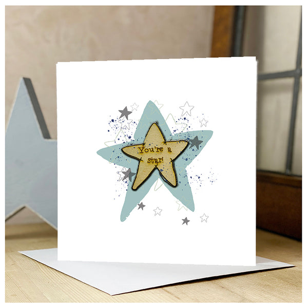 Personalised You're a Star Card