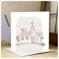 Personalised Quirky Church Card