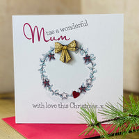 Tae a wonderful Mum with love this Christmas x