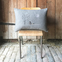 Wool Cushion - Home