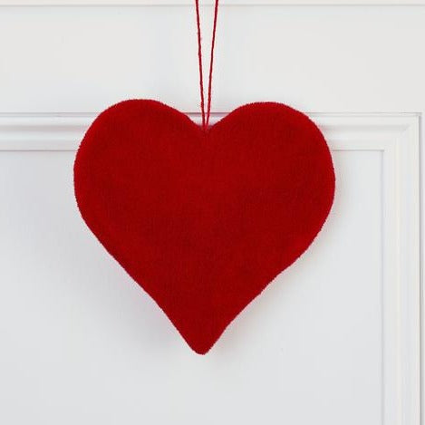Large Red Hanging Heart