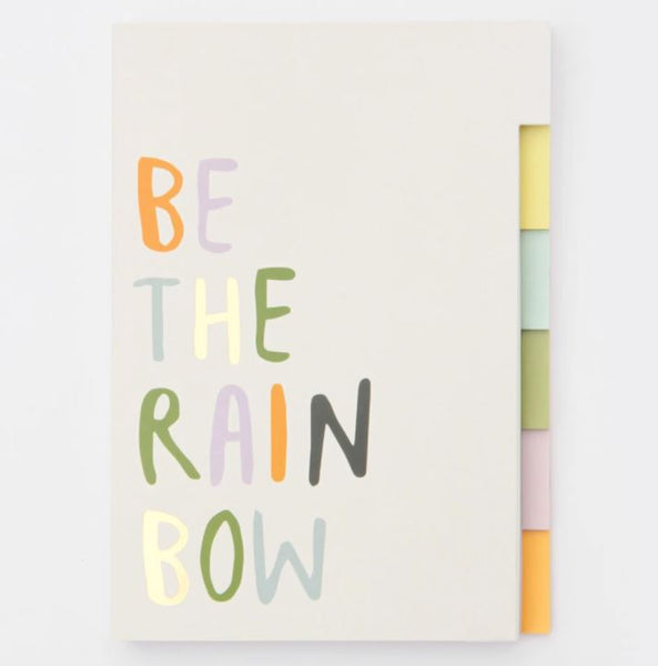 Rainbow Multi Tab Notebook