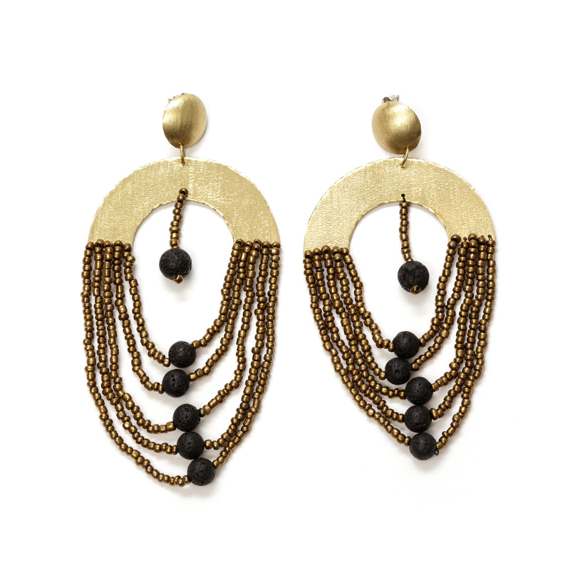 Jiwe Earrings