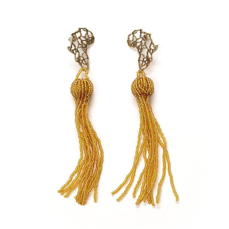 Mina Tassel Earrings