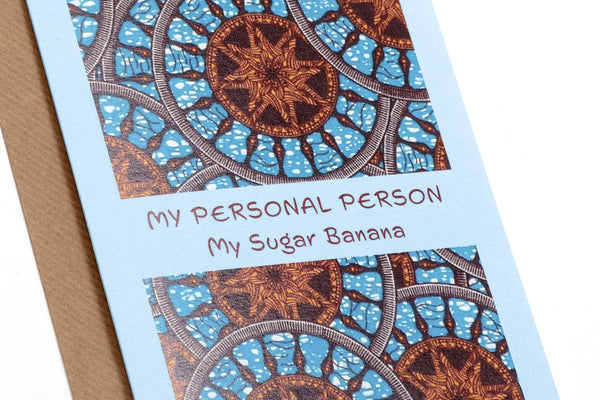 My Personal Person Card