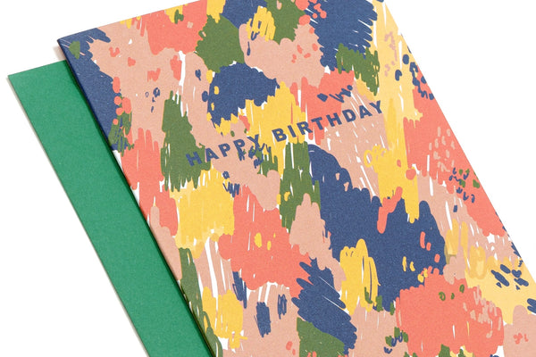 Happy Birthday Card (Multicolour)