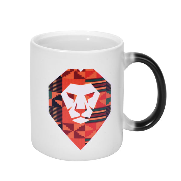 Kente Lion Changing Mug