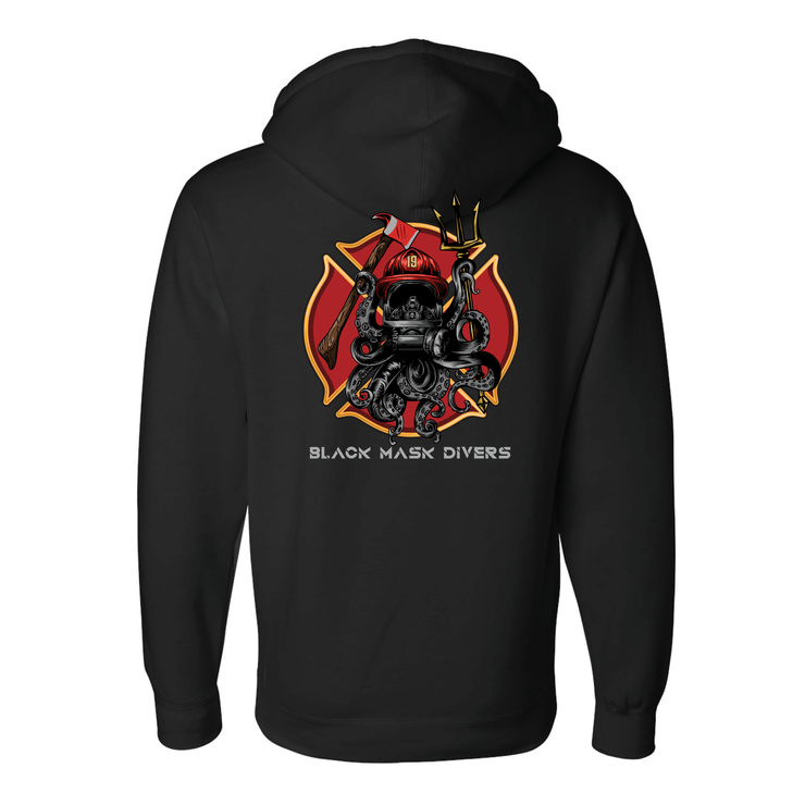 Fire Octo Hoodie