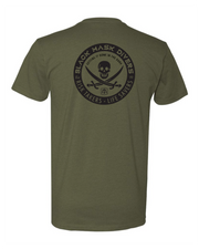 Jolly Roger T-shirt Mil Green