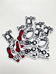 Snap Shackle Sticker