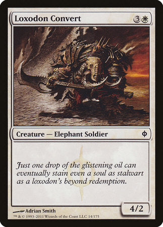 Loxodon Convert [New Phyrexia] | Isle of Games