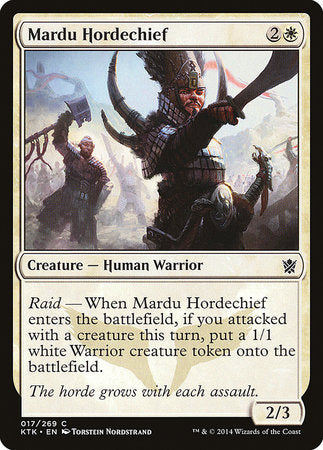 Mardu Hordechief [Khans of Tarkir] | Isle of Games