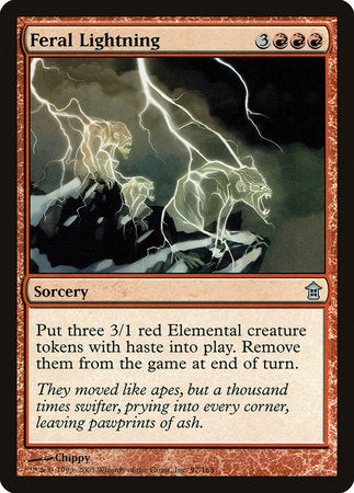 Feral Lightning [Saviors of Kamigawa] | Isle of Games