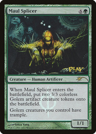 Maul Splicer [Wizards Play Network 2011] | Isle of Games