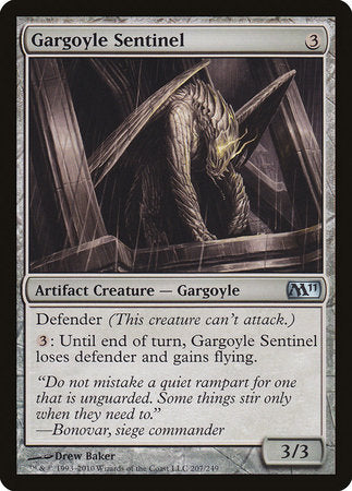 Gargoyle Sentinel [Magic 2011] | Isle of Games