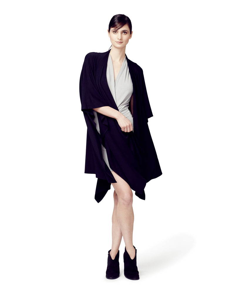 Convertible Cape Wrap black