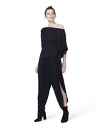 Perfectly Imperfect Top Modal Jersey black