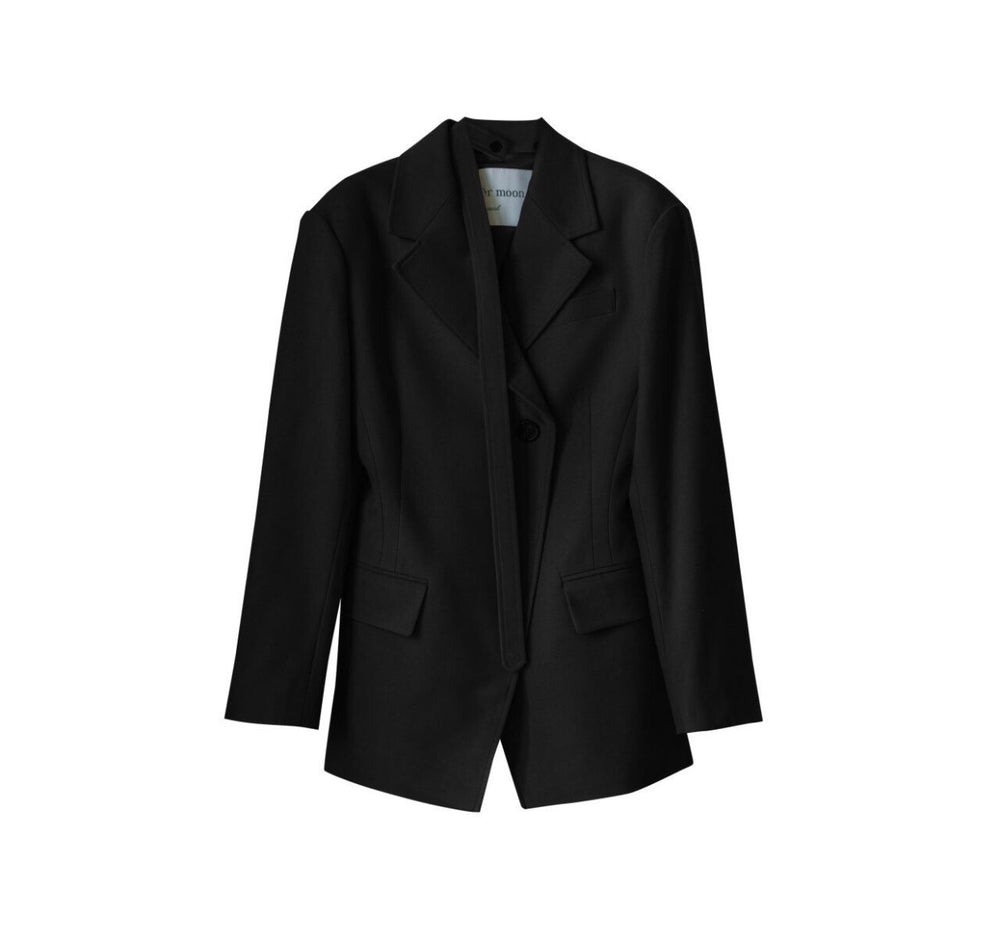 Slim Suit Blazer black