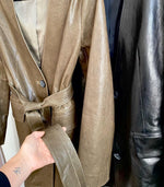 Leather Half Length Jacket