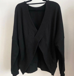 Cross Back Sweatshirt