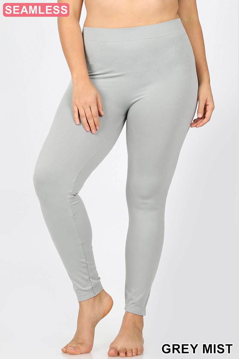 Grey Mist Seamless Leggings