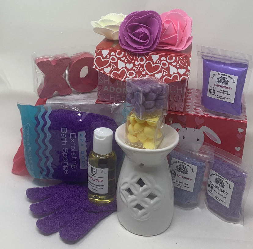 Valentines Deluxe Spa Day Box