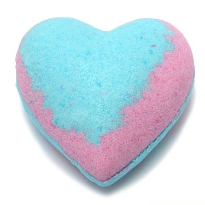 HB Multi-Colored Heart Bath Bomb 3.5 oz - Havanah's Bliss