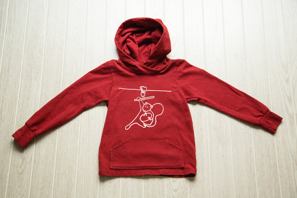 """Zippy the Squirrel"" Hoodie"