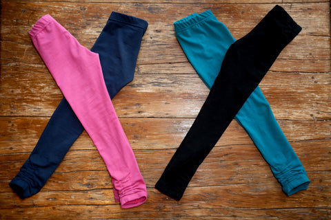 """Flourish"" Extendable inseam leggings"